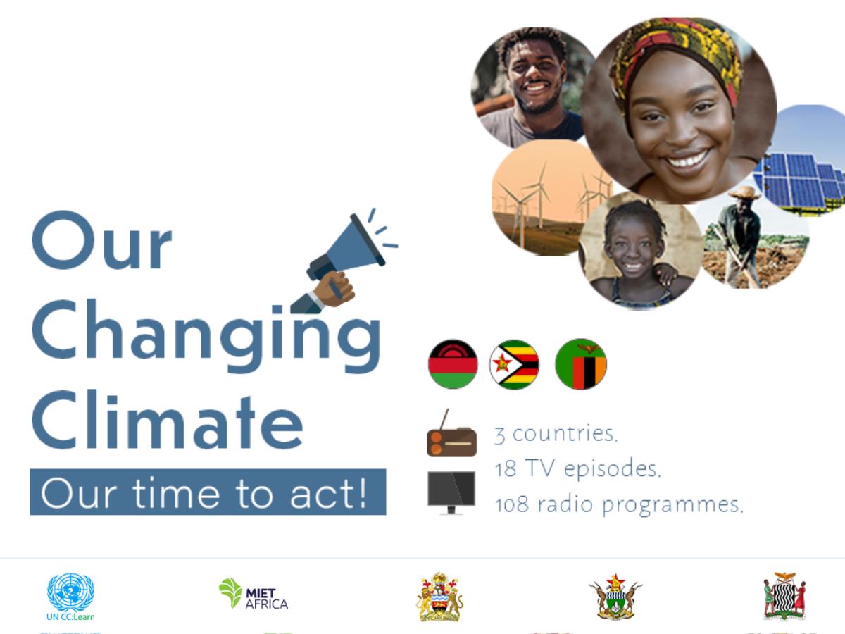 THE TV AND RADIO PROGRAMS THAT ARE CHANGING THE WAY MALAWI, ZAMBIA, AND ZIMBABWE ADDRESS CLIMATE CHANGE