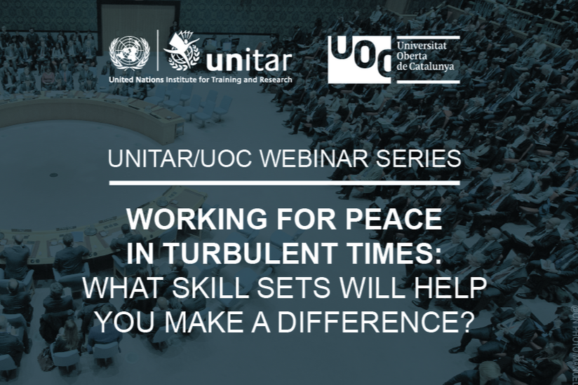 OPEN WEBINAR SERIES: NAVIGATING THE COMPLEX FIELD OF CONFLICT, PEACE AND SECURITY