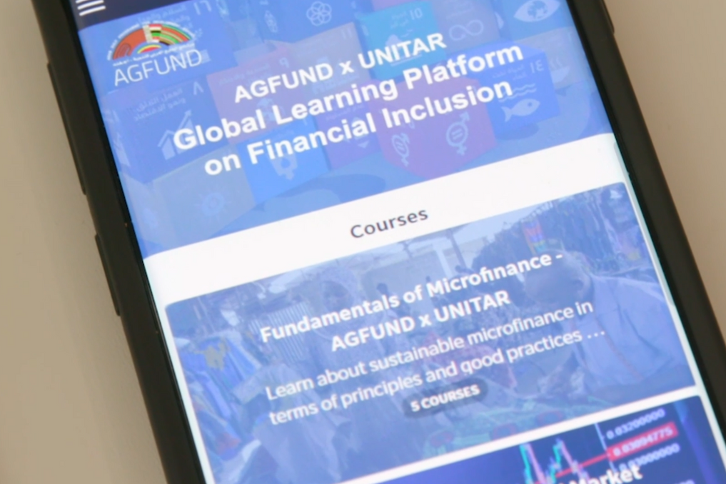 AGFUND-UNITAR GLOBAL LEARNING PLATFORM ON FINANCIAL INCLUSION