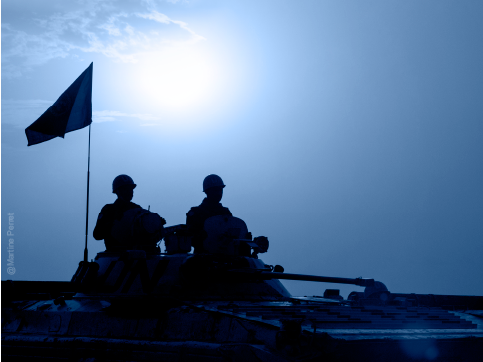 BLUE HELMET IN (DARK) TIMES AHEAD: ONLINE EXPERT BRIEFING ON THE FUTURE OF PEACEKEEPING AFTER COVID-19