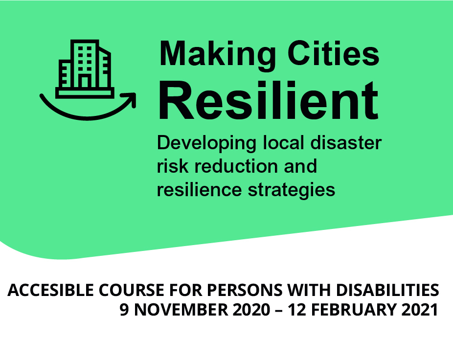BUILDING BACK BETTER FOR ALL: ACCESSIBLE LEARNING FOR IMPROVING THE RESILIENCE OF LOCAL GOVERNMENTS