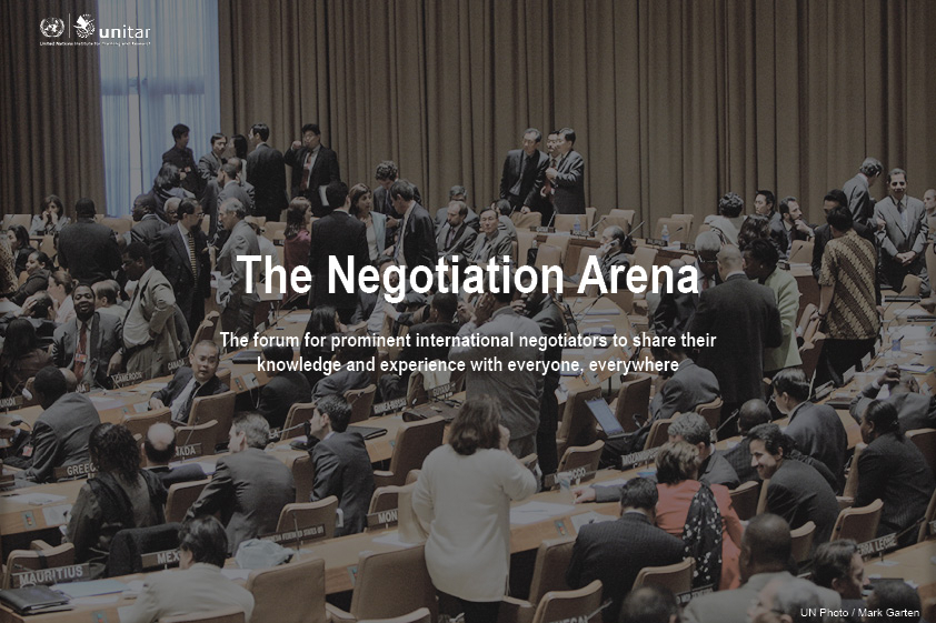 THE NEGOTIATION ARENA