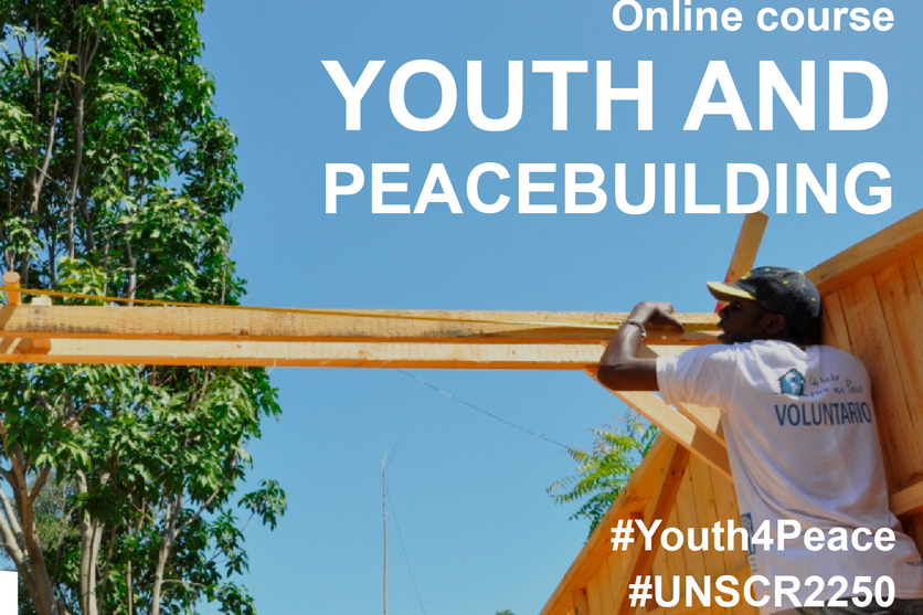 YOUTH AND PEACEBUILDING OPEN ONLINE COURSE